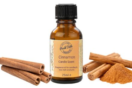 Candle Fragrance Oil - Cinnamon 25ml